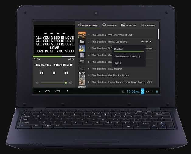 Small netbook: a solution for live