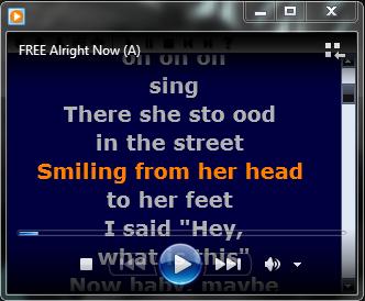 How to add lrc lyrics