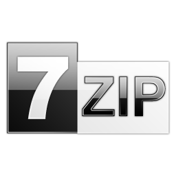 Open a rar file for free with 7-zip