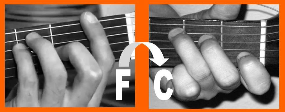 Transposing from F to C
