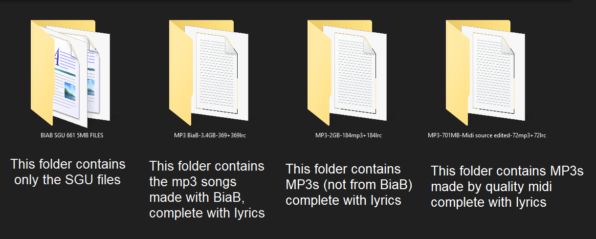 the content (4 more folders)