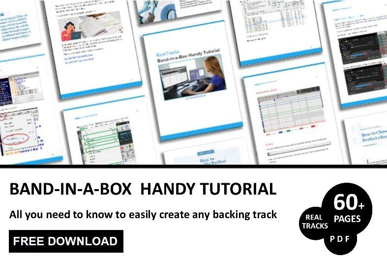 Free Download your Band in a Box Tutorial PDF
